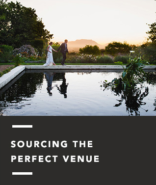 sourcing the perfect venues
