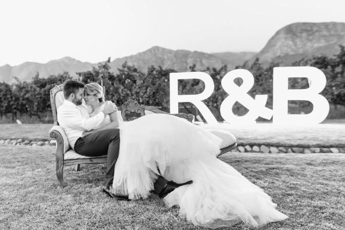 Real Wedding: Ria & Brett